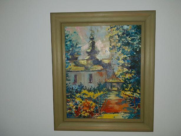 Ręcznie malowany obraz Bogusław Piasecki