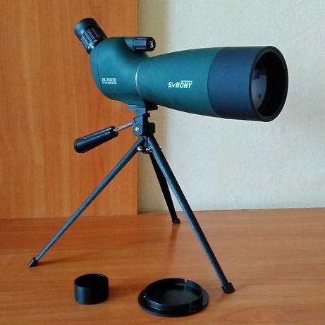 Зрительная подзорная труба монокуляр SvBony SV28 25-75x70 телескоп