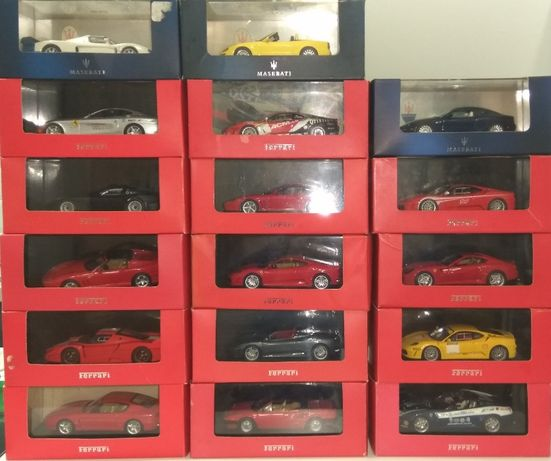 Ferrari и Maserati от IXO 1/43