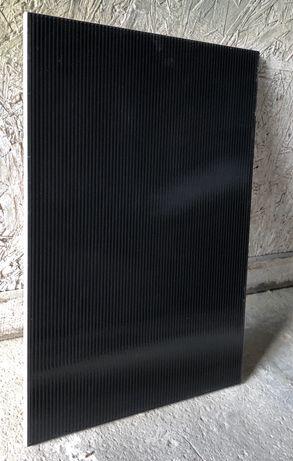 Płytki czarne połysk 36x25 40 sztuk 3,6 m2 50 zł całość