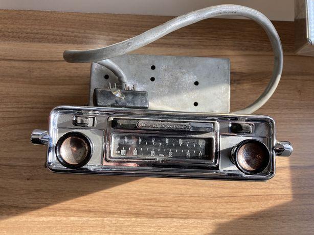 Zabytkowe radio lampowe becker mexico Vw garbus ogórek buli mercedes