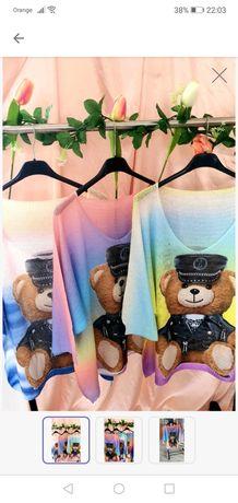 Sweterek piękne kolory