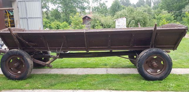 Wóz konny traktorowy