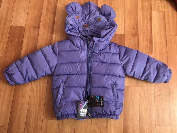 Куртка детская 86 размер. Новая.Теплая (весна - до глубокой осени)