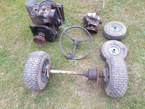 Pozostalosci po traktorku
