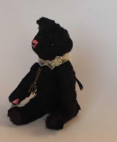 Мишка в стиле тедди, мягкая игрушка, сувенир, ручная работа