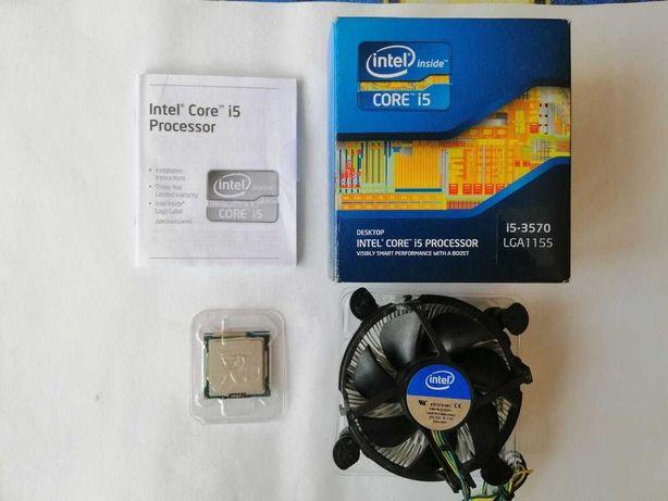 Intel Core i5-3570 3.4GHz/5GT/s/6MB (BX80637I53570) s1155 BOX