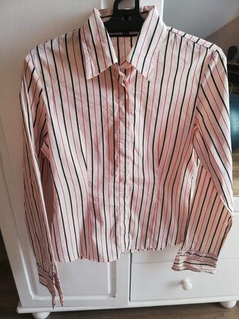 Koszula biało-różowa Street One