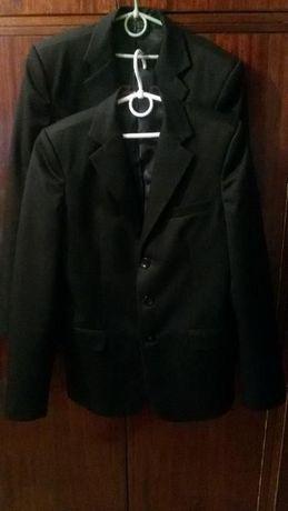 Пиджак МИЛАНА полушерстяной с тефлоновым покрытием черный р. 152