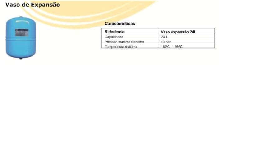 Vasos de expansão solar marca Zilmet 24 L.