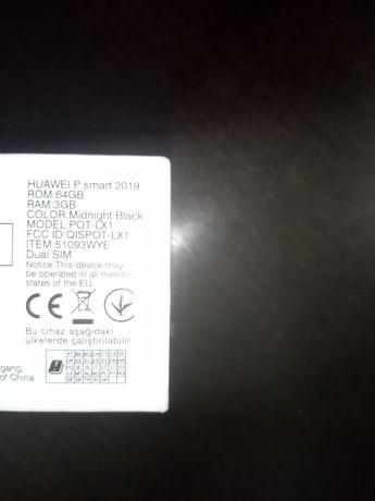 Tel Huawei P Smart
