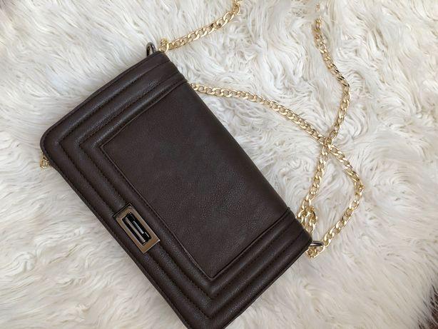 Сумка шкіряна клатч сумочка