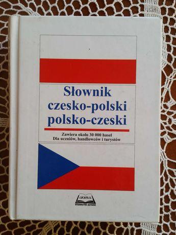 Słownik czesko-polski i polsko-czeski dla uczniów handlowców i turystó