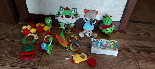 Zabawki niemowlęce zestaw gryzaki