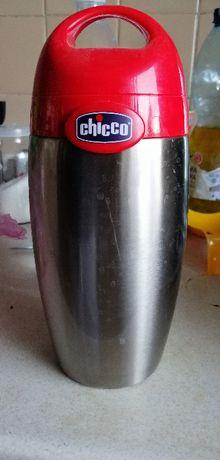 Термос Chicco. на 1 літру.тримає5 годин.не боїться удари-нержавейка.