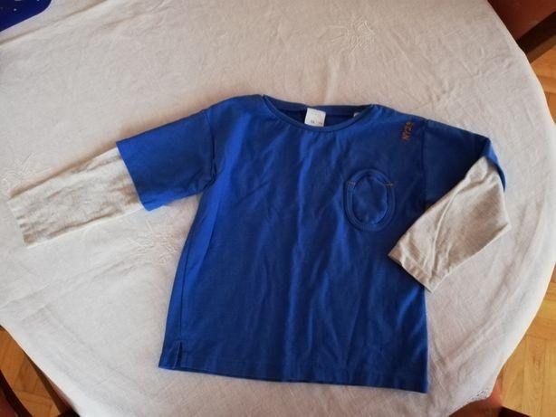 Koszulka na długi rękaw Zara rozm 110