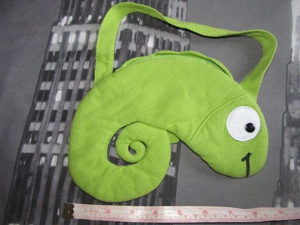 Clayeux маленькая сумочка для девочки,кошелек,ящерица