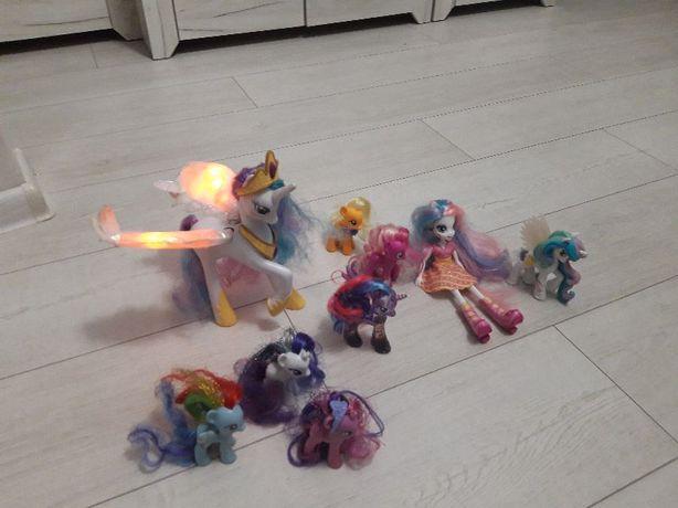 Interaktywna księżniczka Celestia; lalka, Luna; kucyki pony zestaw