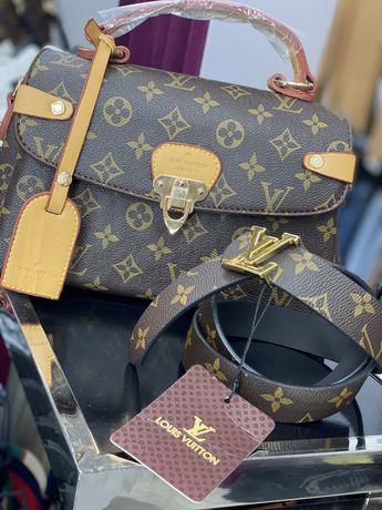 Женская сумочка и ремешок Louis Vitton