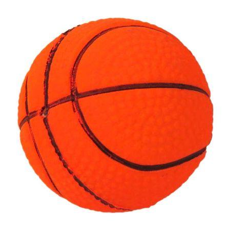 Zabawka piłka koszykówka Happet 90mm pomarańczowa