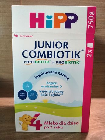 Hipp 4 Junior Combiotik, 750 g