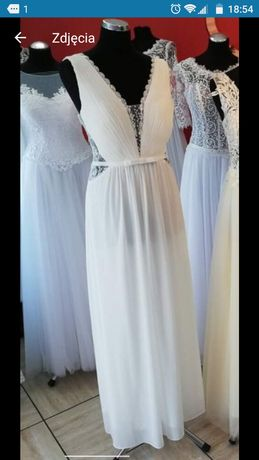 Suknia ślubna r 44
