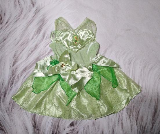 Карнавальное платье феи с крыльями