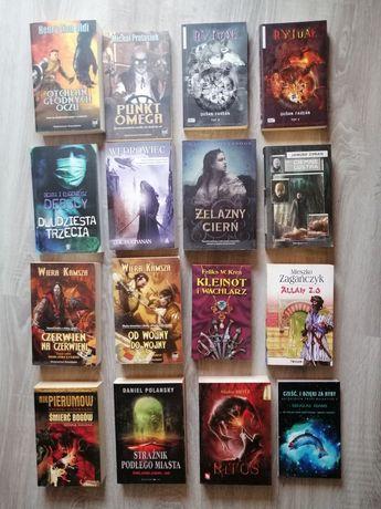 Książki fantastyka fantasy science - fiction każda po 10 zł