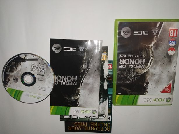 gra na konsole xbox360, medal of honor