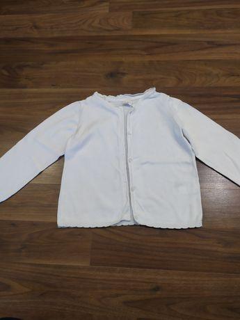 Sweterek sweterki rozpinane h&m po bliźniaczkach rozm. 98