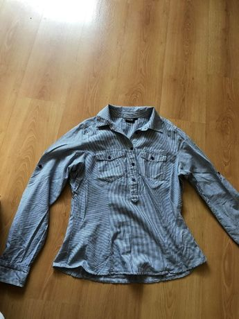 Bluzka koszulowa w paski