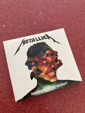 Metallica PIERWSZE WYDANIE cd Hardwired… to self destruct