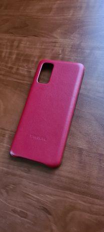 Новый! Кожаный чехол бампер на телефон Самсунг Samsung S 20