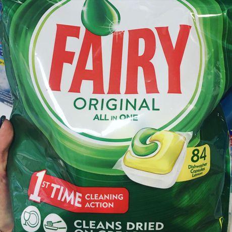 Капсулы, таблетки соль посудомоечной машинки Fairy,Finish,Astonish,