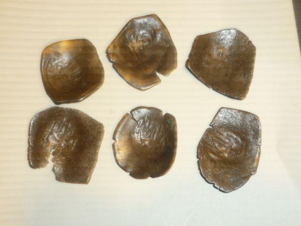 monety aspron trachy Bizancjum XIIw