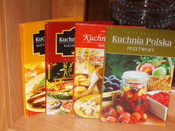 Kuchnia Polska .Przetwory. Kuchnie świata - Meksykańska,Włoska 4 szt