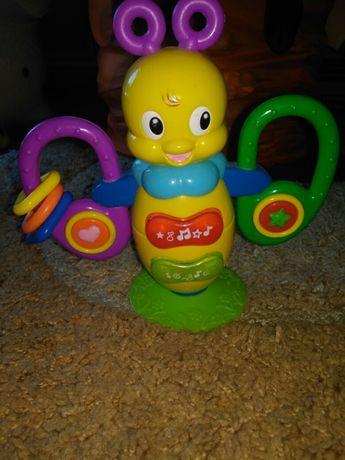 Развивающая игрушка, музыкальная игрушка для самых маленьких, пчела