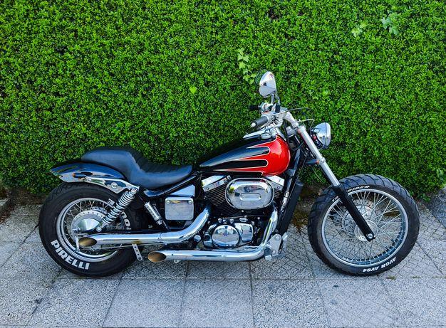 Honda shadow 750 black widow carta A2