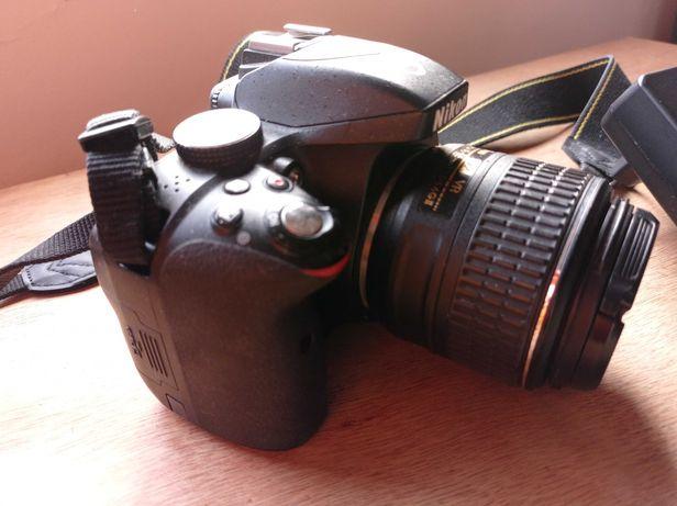 Camera Nikon D3300 Objetiva 18-55mm VR + Mochila Nikon