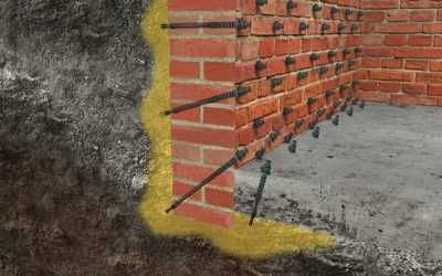 Силова ін'єкція бетону. Ізоляція та утеплення бетону