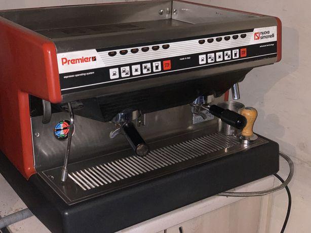 Кофемашина кавова машина кофеварка кофемолка оборудование premier