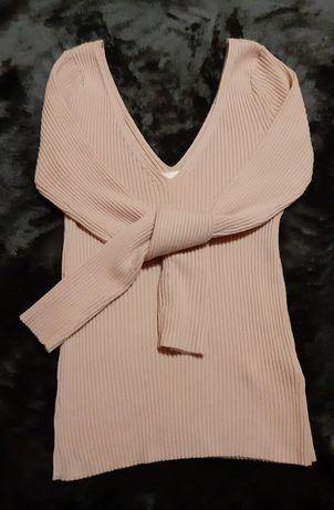 Sweterek z dodatkiem wełny H&M