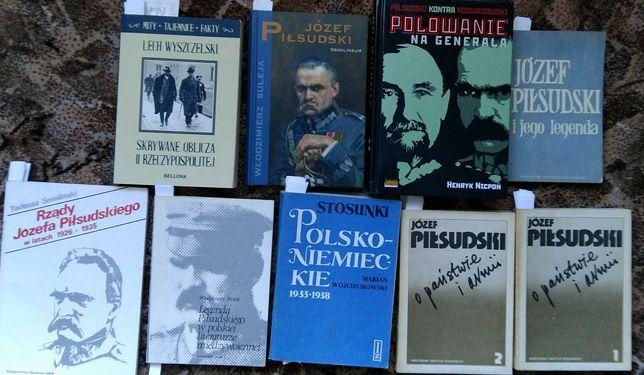 37 książek Piłsudski sanacja polityka zagraniczna IIRP