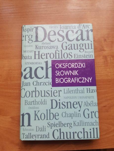 Oksfordzki Słownik Biograficzny + druga książka gratis