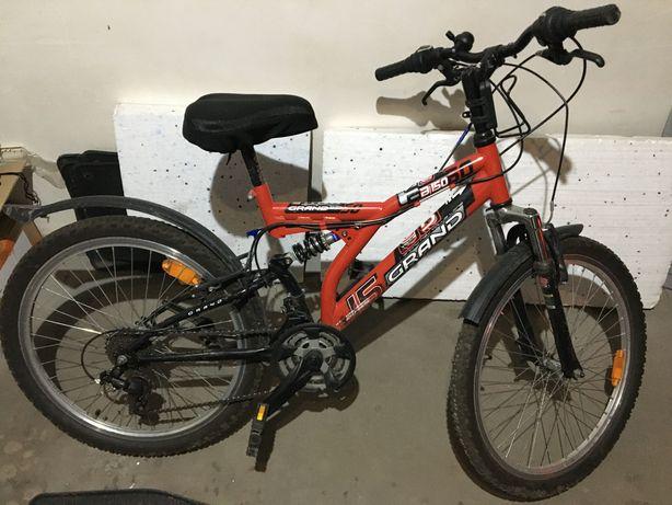 Rower młodzieżowy Grand B150 koła 24 całe