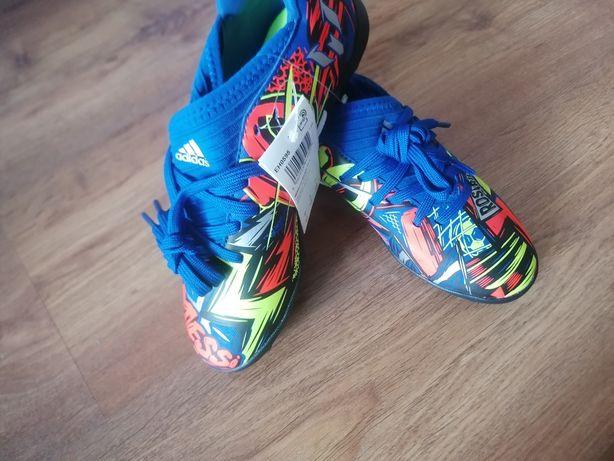 Nowe turfy Adidas NEMEZIZ rozmiar 34 długość wkładki 22 cm