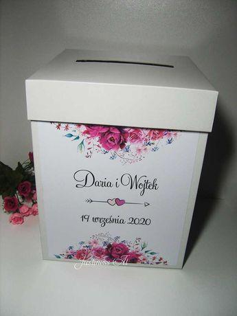 Pudełko na koperty z dowolnym wzorem