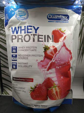 Протеин Quamtrax Whey Protein 2 kg 0.5 kg аналог Myprotein impact whey