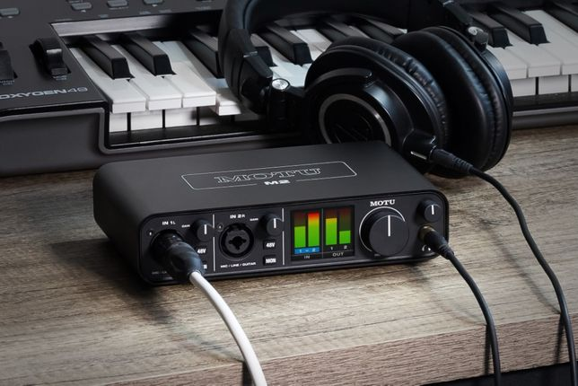 Аудиоинтерфейс звуковая карта Motu M2 Новый В наличии Гарантия