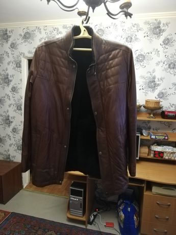 Кожаная куртка. Куртка.